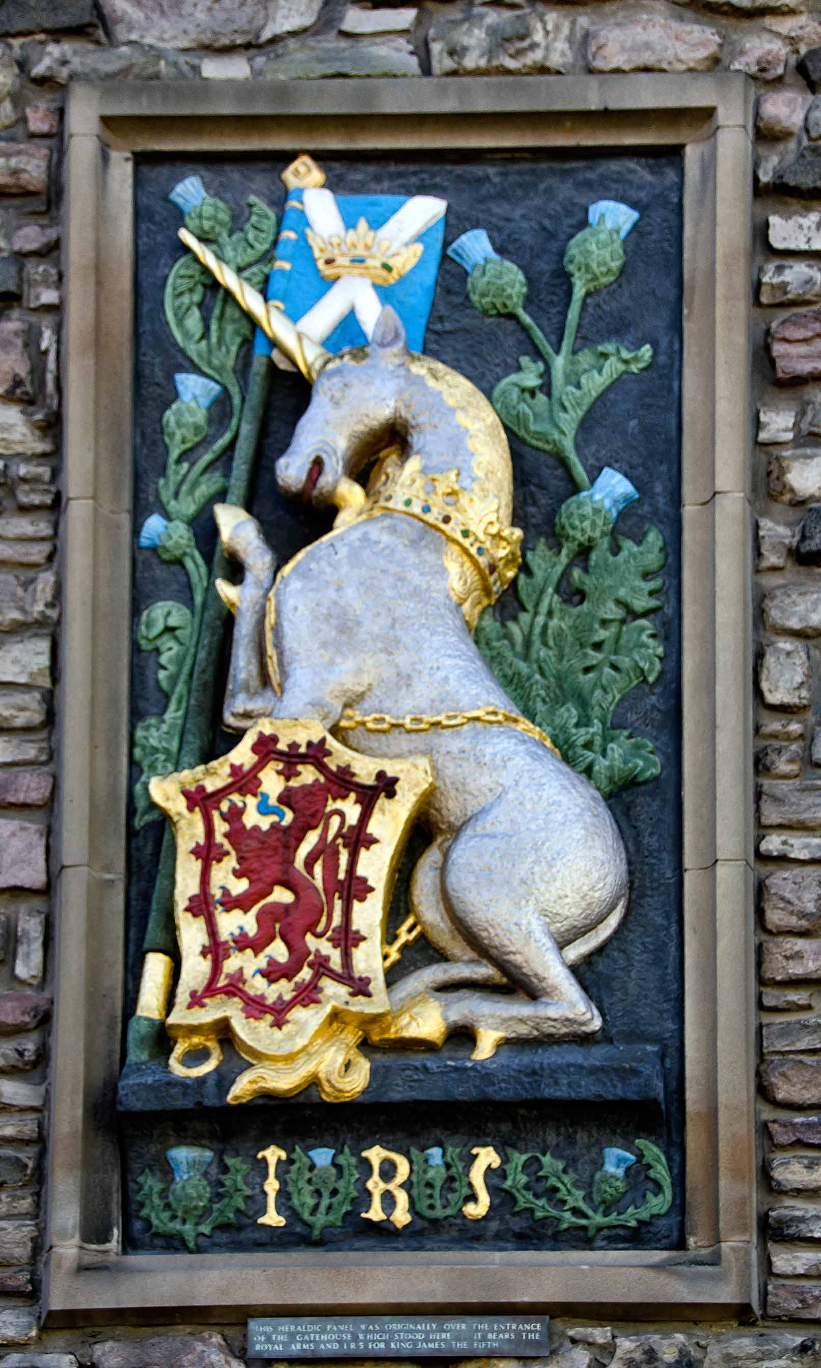 unicorn chains edinburgh Holyrood